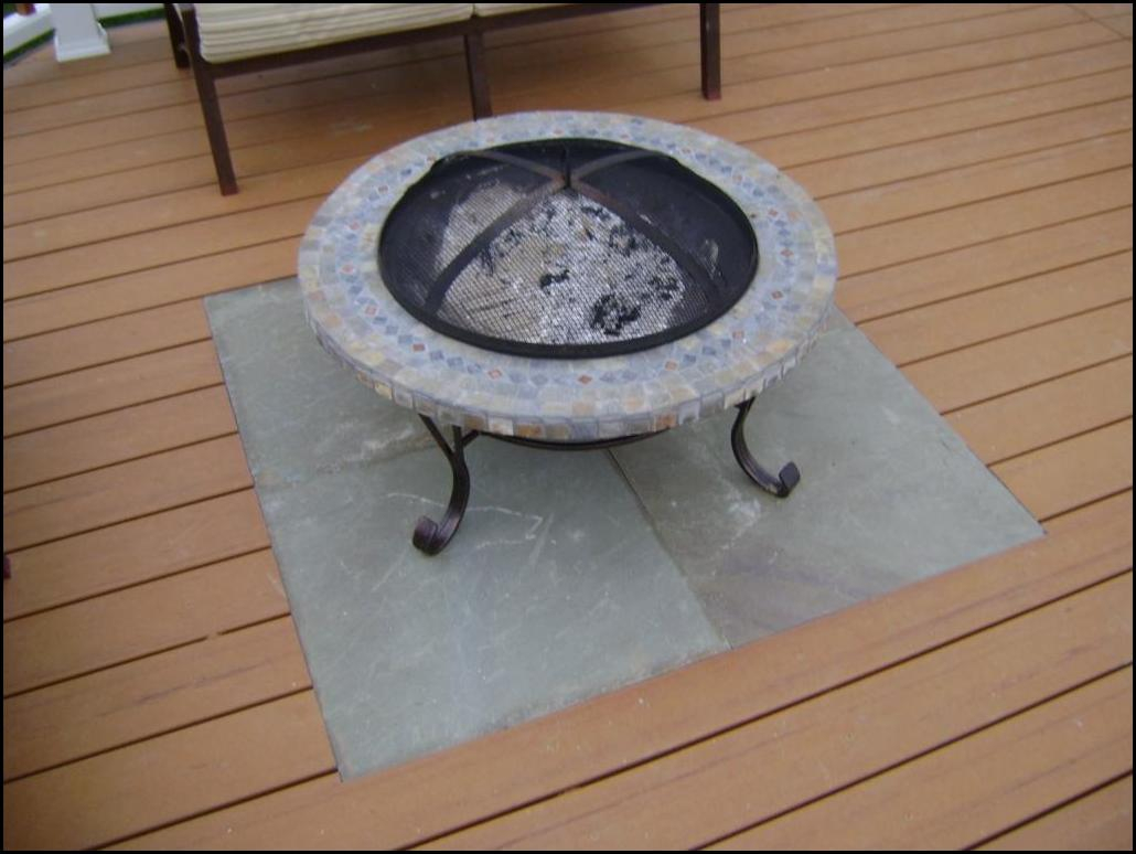 Fire Pit Mat For Wood Deck 5 pertaining to dimensions 1030 X 774