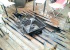 Fire Pit On Wooden Deck Decks Ideas throughout size 1632 X 1224