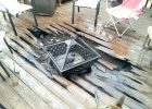 Fire Pit On Wooden Deck Decks Ideas with regard to proportions 1632 X 1224