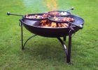 Fire Pit Plain Jane 90 With Three Swing Arm Bbq Racks Firepits Uk pertaining to measurements 1024 X 768