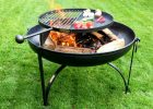 Fire Pit Plain Jane Collection With Swing Arm Bbq Rack Firepits Uk intended for proportions 1024 X 768