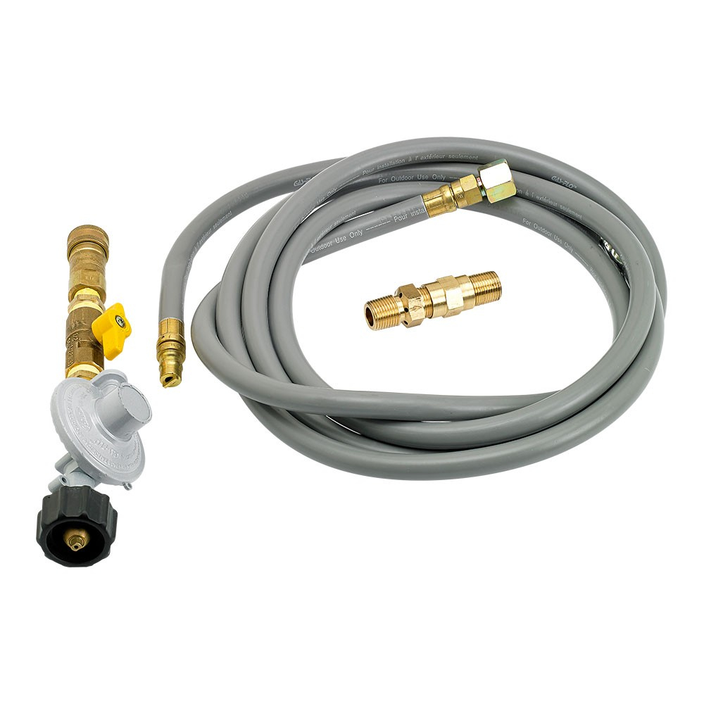 Fire Pit Propane Installation Kit With 12 Hose And Quick Connect with regard to proportions 1000 X 1000