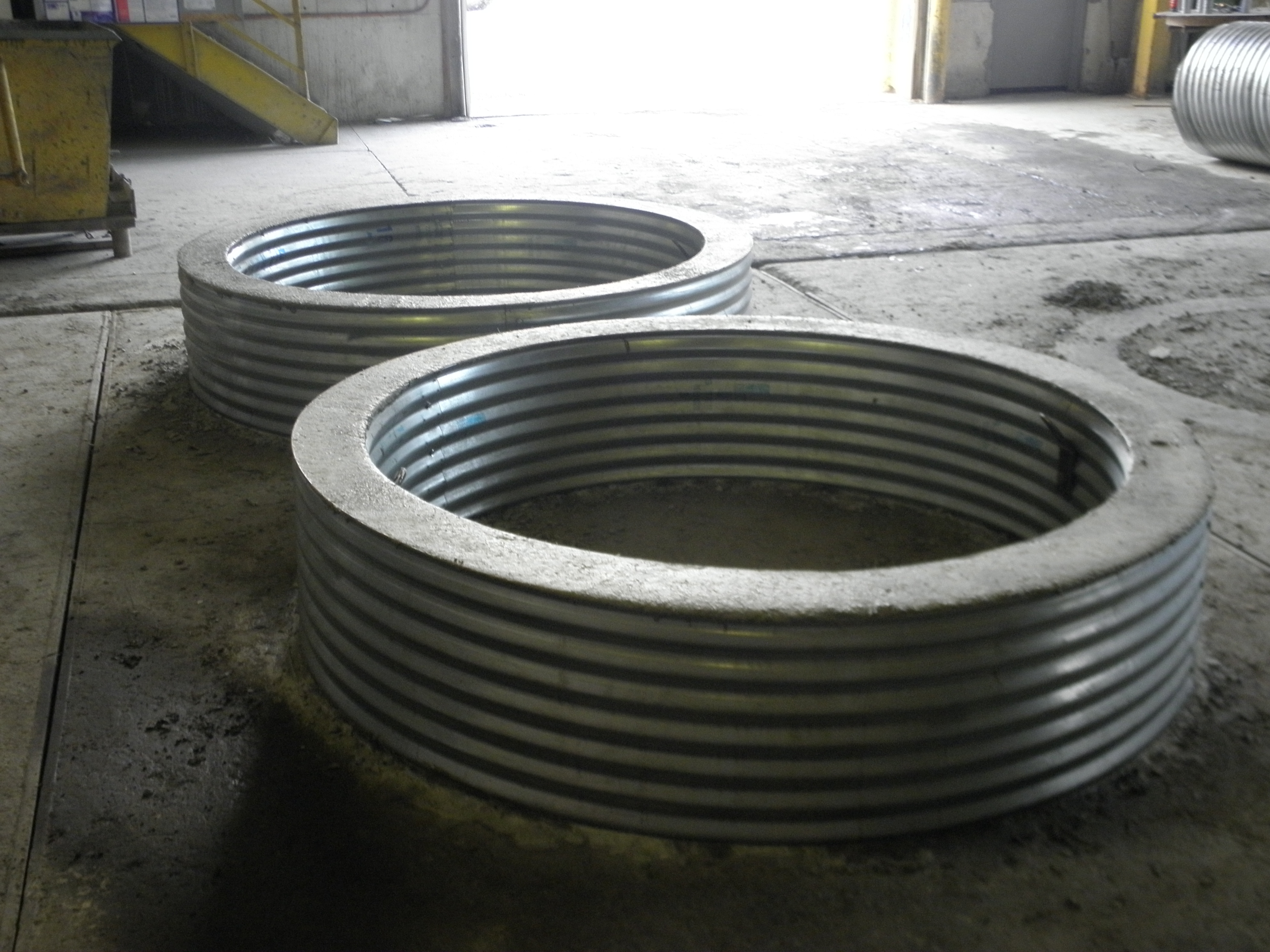 Fire Pit Rings Cadillac Culvert Inc regarding dimensions 3968 X 2976