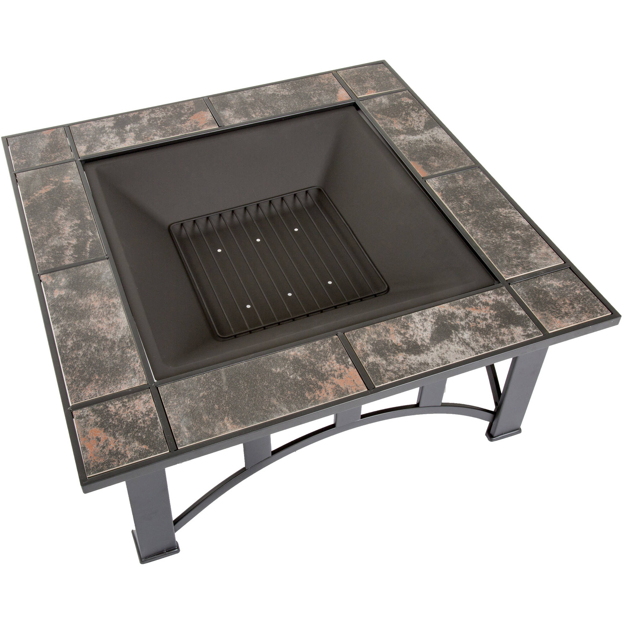 Fire Pit Set Wood Burning Pit Includes Screen Cover And Log intended for dimensions 2000 X 2000