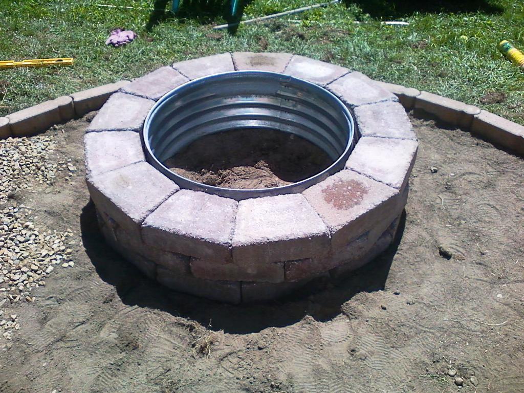 Fire Pit Steel Ring Insert Jayne Atkinson Homesjayne Atkinson Homes for measurements 1024 X 768