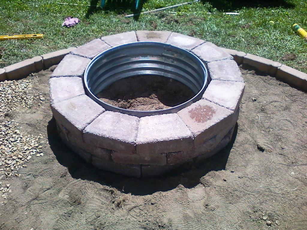 Fire Pit Steel Ring Insert Jayne Atkinson Homesjayne Atkinson Homes with sizing 1024 X 768
