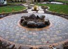 Fire Pits Cobble Pavers With Boulder Firepit Fire Pit Fire Pit for proportions 3072 X 2304