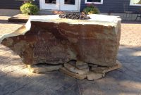 Fire Rock Natural Stone Fire Pit Fire Pit Backyard Fire Pit throughout sizing 1600 X 1200