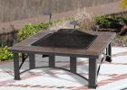 Fire Sense 60243 Tuscan Tile Mission Style Square Outdoor Fire Pit with dimensions 1400 X 1400