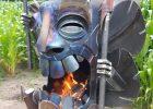 Firepit Fireplace Tiki Garten Fire Pit Backyard Diy Fire Pit inside dimensions 1296 X 2304