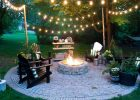 Firepit Patio Country Cottage Diy Circular Outdoor Entertaining with proportions 1065 X 1600