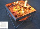 Fireside Pop Up Fire Pit Portable Outdoor Fire Pit For Patio throughout dimensions 1600 X 1067