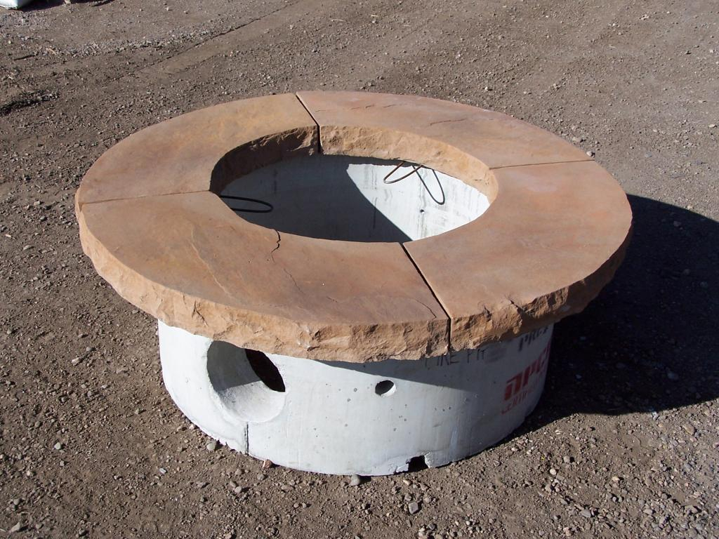 Flagstone Fire Pit Cap Fireplace Design Ideas for proportions 1024 X 768