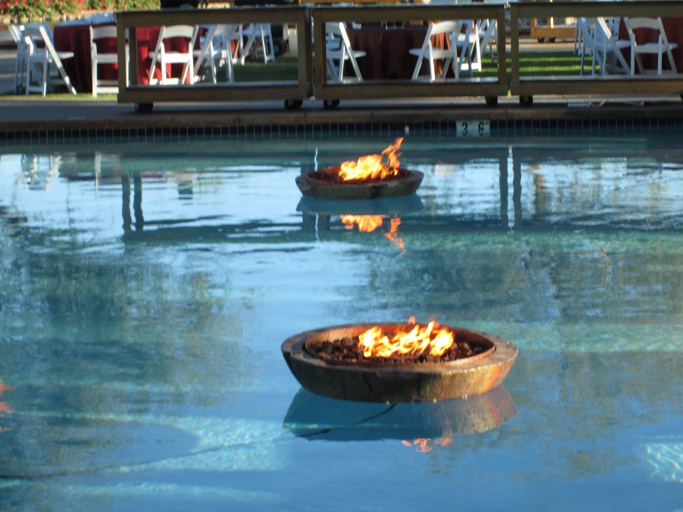 Floating Fire Pit Encore Creative within size 2304 X 1728