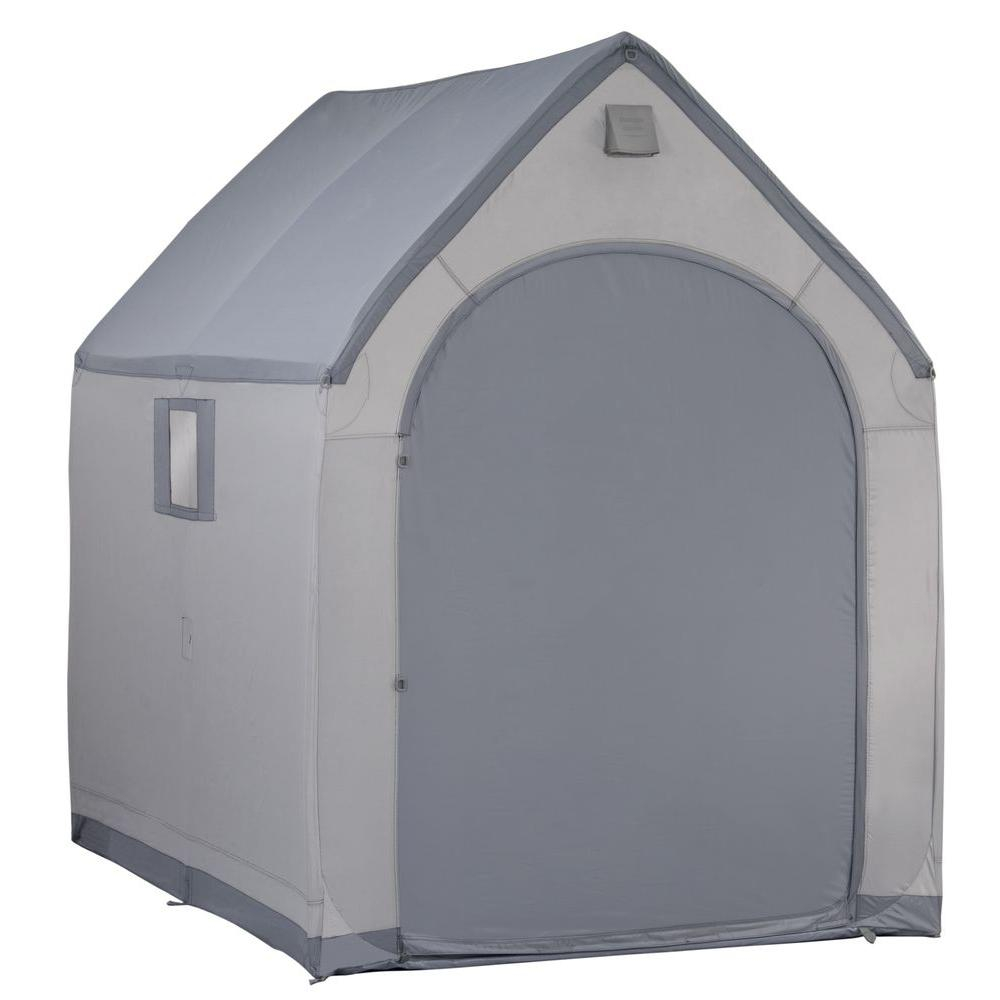 Flowerhouse 7 Ft X 6 Ft Portable Storage House Shed Shxl800 The inside size 1000 X 1000