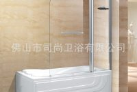 Foshan Factory Direct Bathtub In A Straight Wall A Solid Glass within size 891 X 990