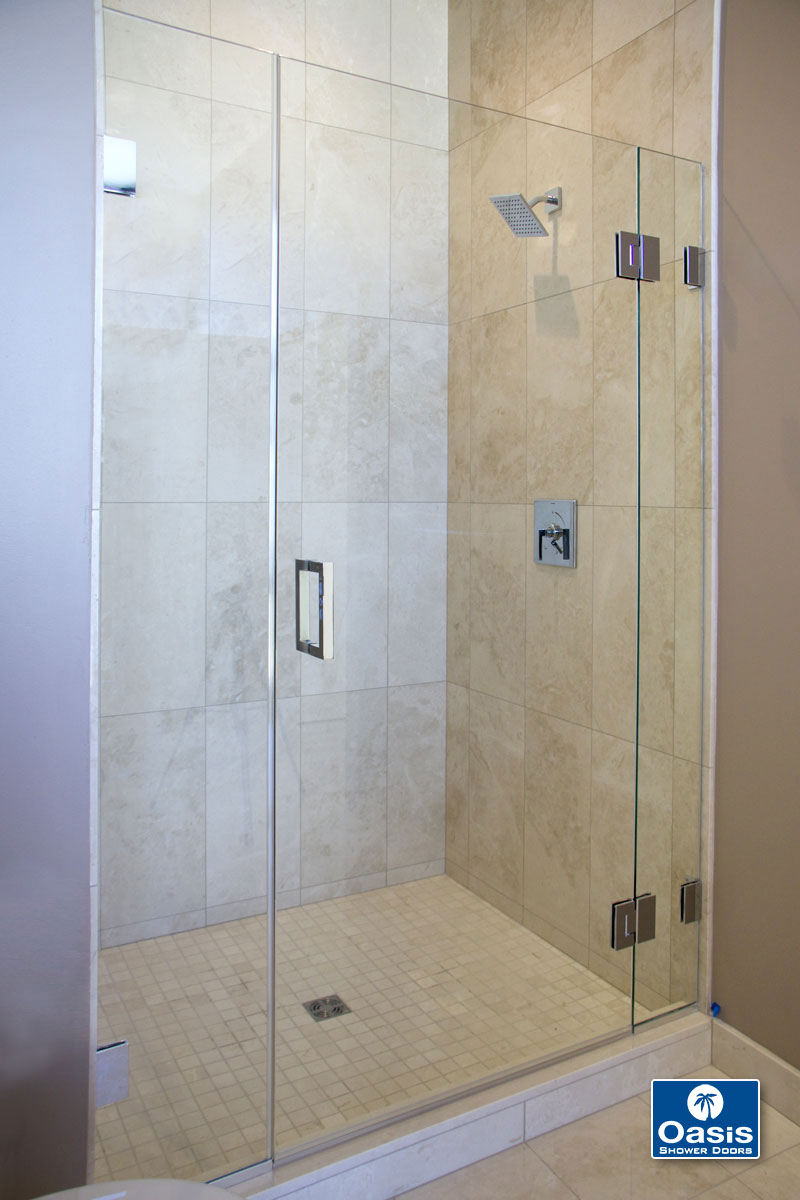 Frameless Glass Shower Spray Panel Oasis Shower Doors Ma Ct Vt Nh with size 800 X 1200