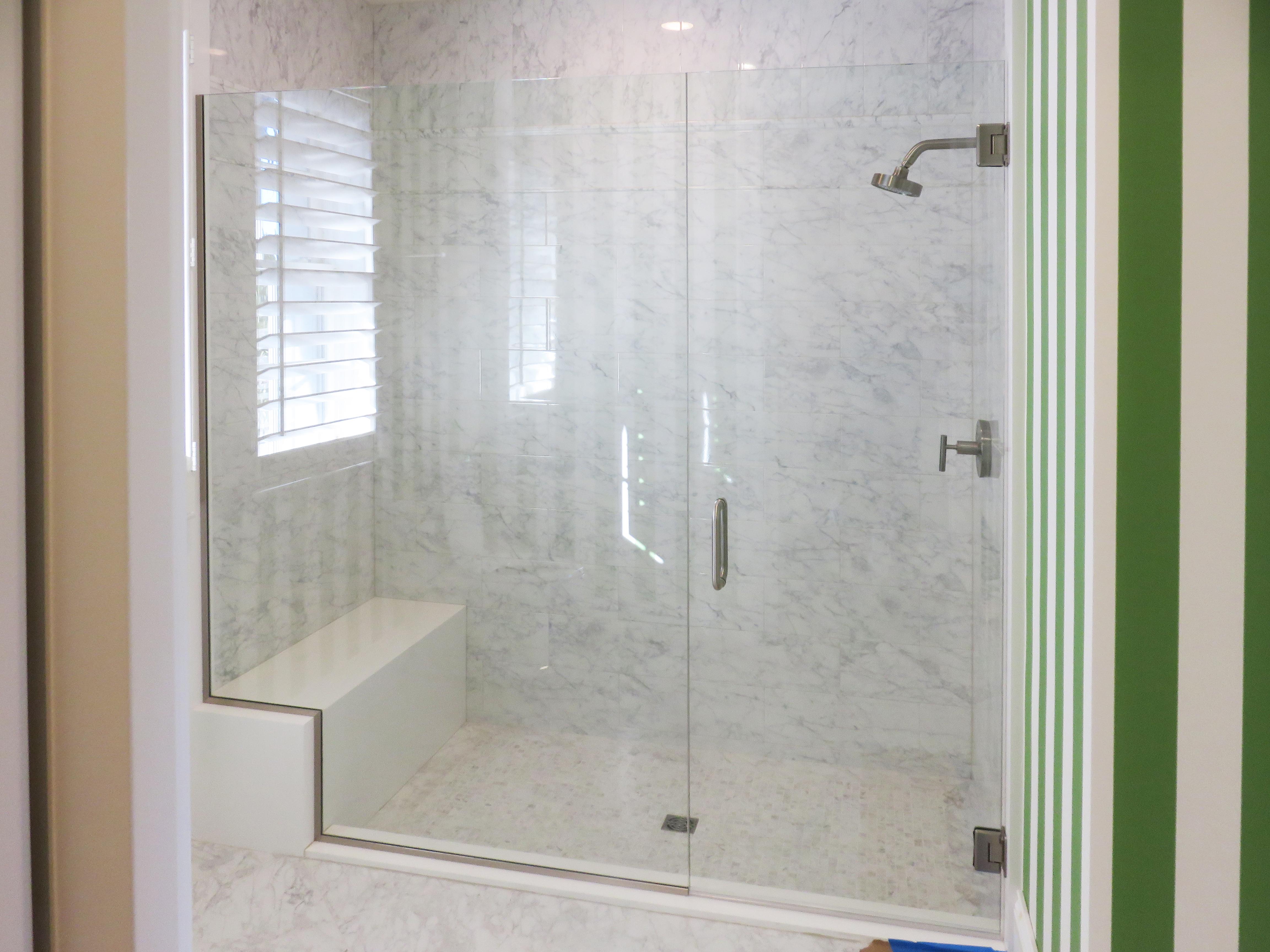 Frameless Showers Glass Design Fort Myers Naples Fl for size 4608 X 3456