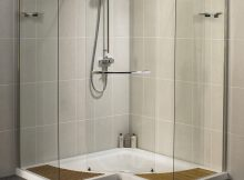 Free Standing Shower Doors Bliss Bath And Kitchen pertaining to dimensions 1350 X 1750