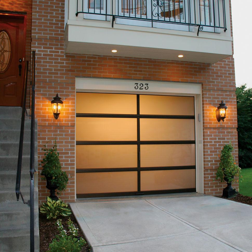 Full View Aluminum Garage Doors Garage Living throughout sizing 970 X 970