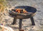 Garden Trading Foscot Fire Pit Small Raw Metal regarding proportions 800 X 1100