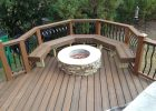 Gas Fire Pit On Composite Deck Decks Ideas inside measurements 1632 X 1224