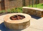 Gas Fire Pit Rocks Fireplace Design Ideas for size 2040 X 1134