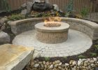 Gas Fire Pits For A Patio Circle Paver Wall In Country Manor in dimensions 2048 X 1536
