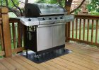 Gas Grill On Wood Deck Furniture Home Decor inside measurements 2000 X 1339