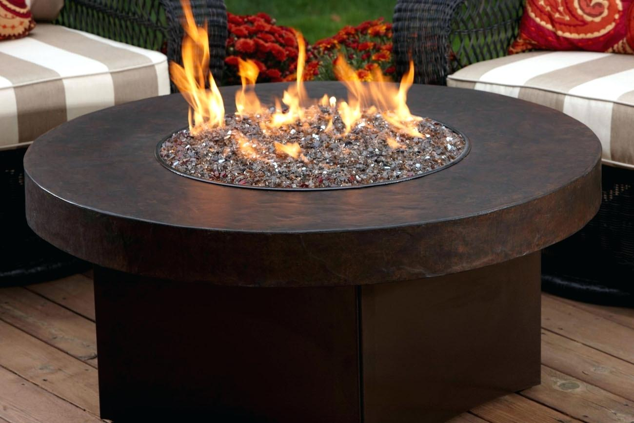 Gas Outdoor Fireplace Fire Pit Nz Table With Hammered Antique Bronze pertaining to size 1300 X 867