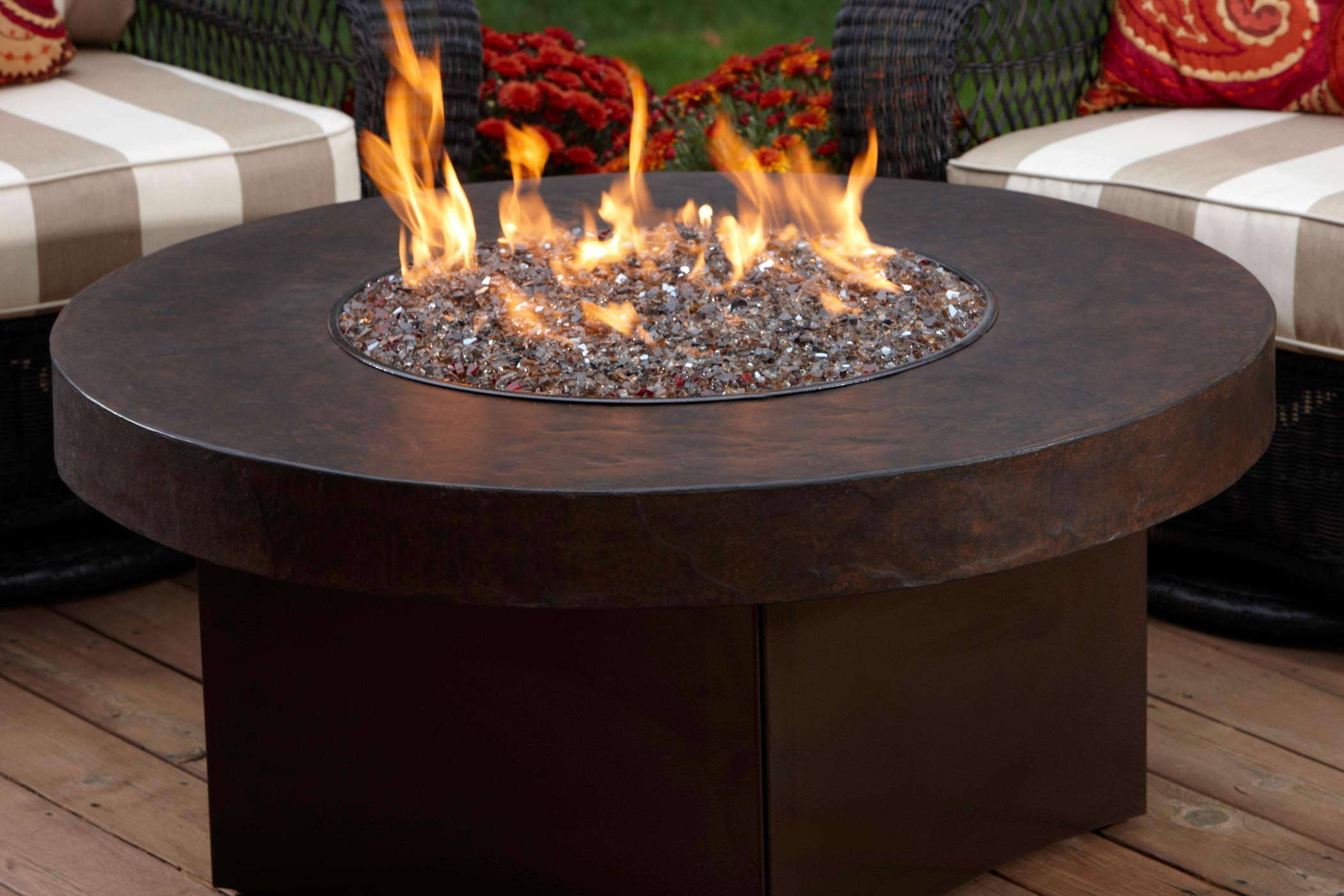 Gas Table Fire Pit Savanna Stone Gas Fire Pit pertaining to sizing 2100 X 1400