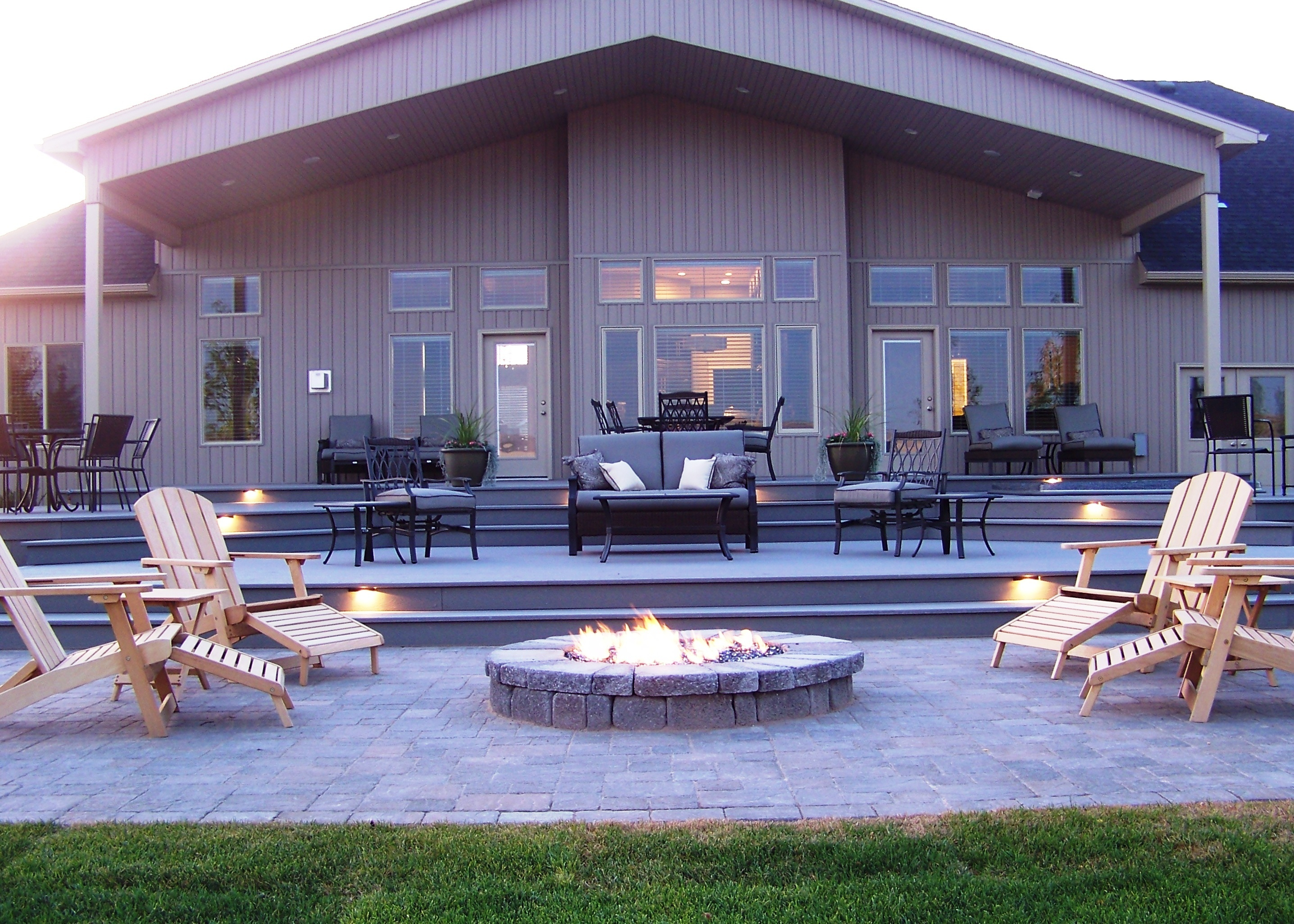Gas Vs Wood Burning Fire Pit Five Considerations with measurements 2873 X 2052
