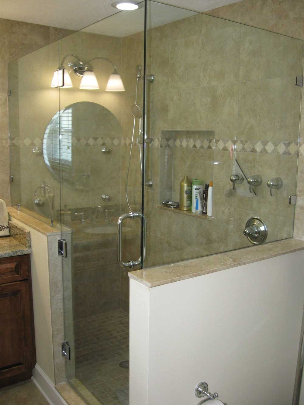 Glass Shower Doors Frameless Frameless Shower Door Hinged Off throughout proportions 1000 X 1333