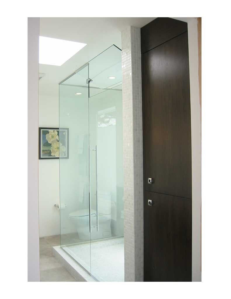 Glass Shower Surround U Channel Top And Bottom With Operable in proportions 791 X 1024