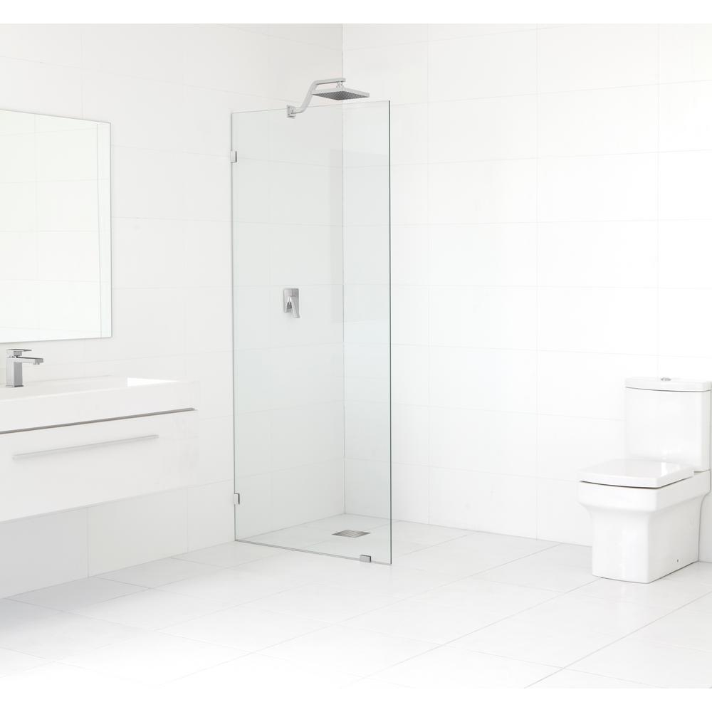 Glass Warehouse 30 In X 78 In Frameless Fixed Panel Shower Door In in size 1000 X 1000