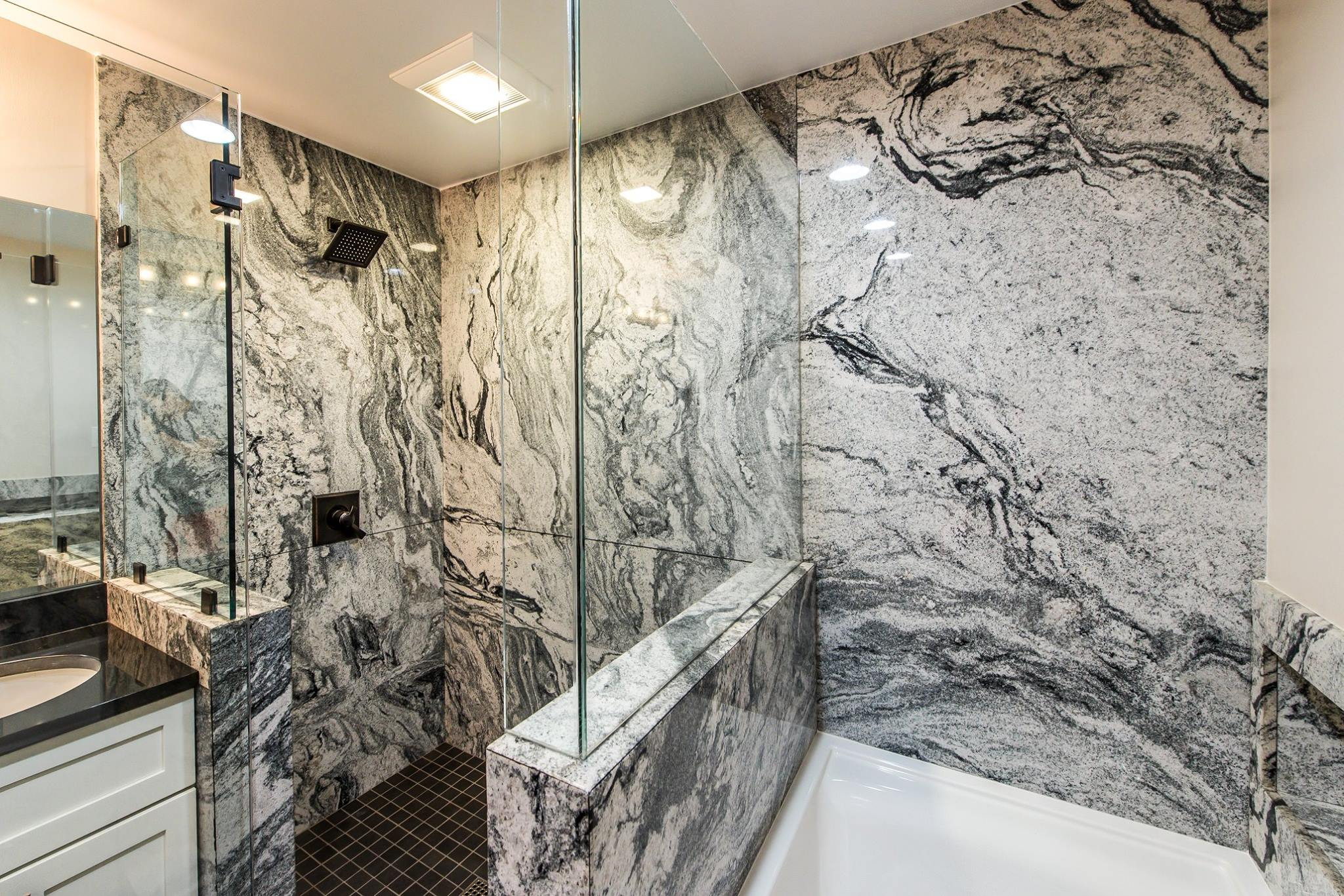 Granite In The Shower Ohio Property Brothers with regard to dimensions 2048 X 1366