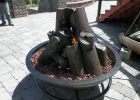 Hand Made Gas Fire Cauldron With Steel Logs Hellgate Forge pertaining to sizing 1600 X 1200