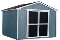 Handy Home Products Princeton 10 Ft X 10 Ft Wood Storage Shed in size 1000 X 1000