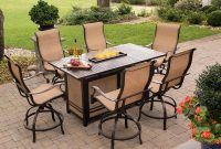 Hanover Monaco 7 Piece High Dining Set With 6 Swivel Rockers And A with regard to size 1500 X 1500
