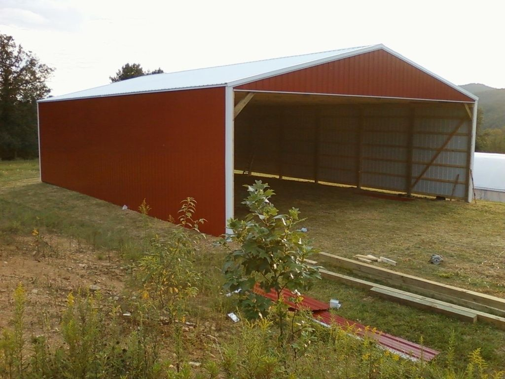 Hay Storage Shed 40x60x14 Wwwnationalbarn Equestrian intended for proportions 1024 X 768