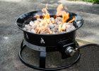 Heininger Holdings Llc Heininger Portable Propane Outdoor Fire Pit regarding proportions 2000 X 1325