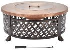 Home Decorators Collection 40 In Lattice Fire Pit Table In Copper throughout sizing 1000 X 1000