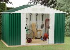 Hot Dipped Galvanised Steel Garden Storage Sheds Metal Garden within size 1000 X 1000