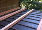 Ib Waterproof Membrane With 2x4 Pt Sleepers And 2x6 Redwood Ch inside sizing 1936 X 2592
