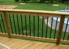 Ideas Of Aluminum Round Deck Railing Baluster House Design throughout dimensions 1024 X 768