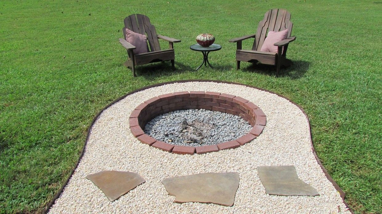 In Ground Fire Pit Designs Ideas In Ground Fire Pit Design Ideas intended for dimensions 1241 X 697