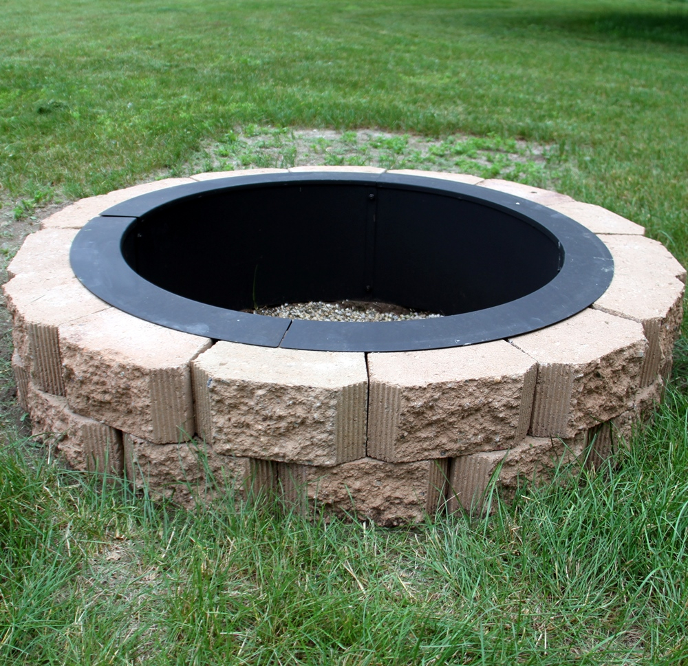 In Ground Fire Pit Risks And Tips Homesfeed with regard to sizing 1000 X 968
