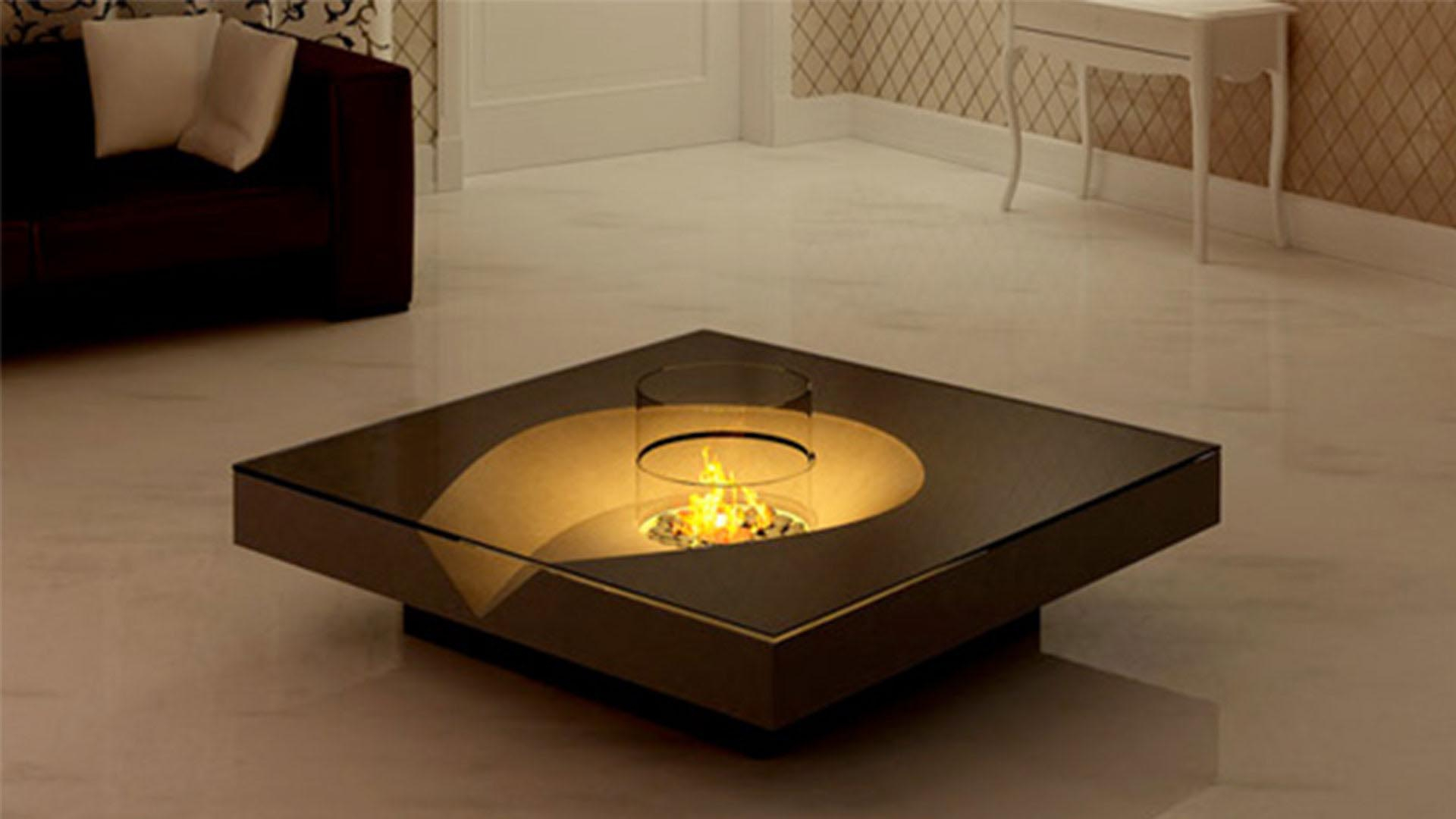 Indoor Fire Pit Coffee Table Photos Table And Pillow Weirdmonger throughout sizing 1920 X 1080