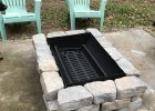 Inexpensive Fire Pit Made From A 55 Gallon Drum A Grate From intended for dimensions 2250 X 3000