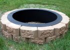 Inground Fire Pit Ring The Latest Home Decor Ideas with measurements 1000 X 968